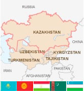 Map Of Asia Un.United Nations Helps Broker Regional Cooperation In Central Asia