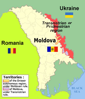 The Disintegration Of Moldova Five Scenarios For Ukraines - Where is moldova