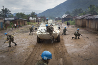 MONUSCO Uruguayan Peacekeepers intensify Patrol in Pinga