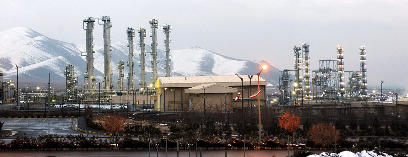 The heavy water facility at Arak will be inspected under terms of the nuclear deal being negotiated between Iran and the P5+1 countries. Arak, Iran, January 15, 2011. (Hamid Foroutan/AFP/Getty Images)