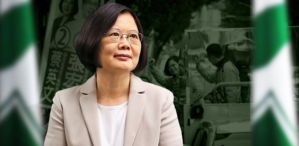 Tsai Ing-wen, president-elect of Taiwan. January 16, 2016. (Voice of America