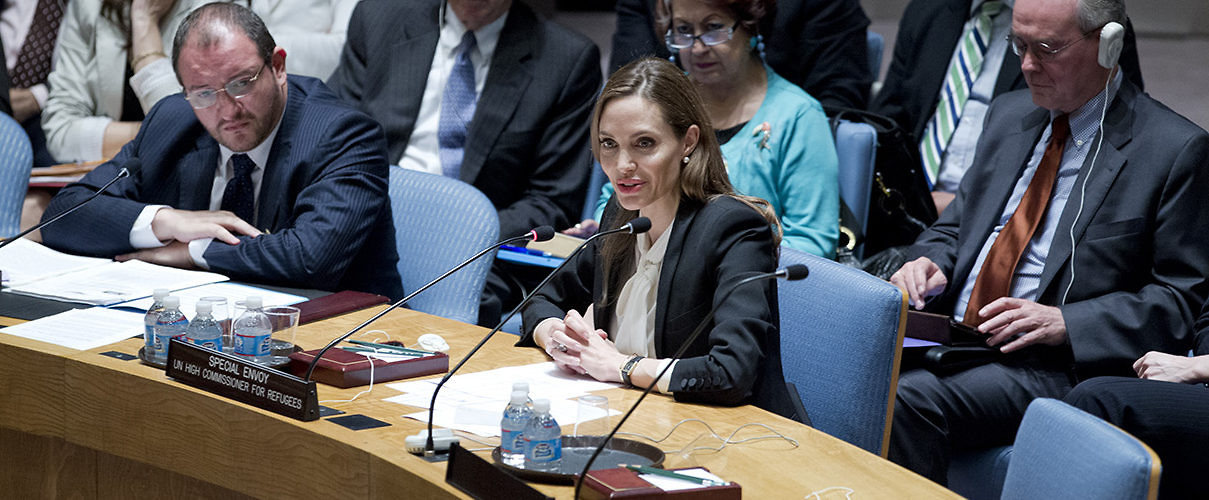 Three Cheers for Professor of Practice Jolie-Pitt | IPI Global Observatory
