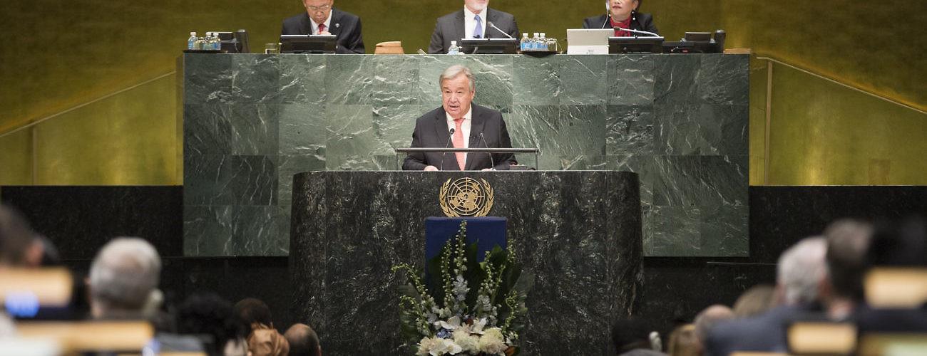 Secretary-General Guterres