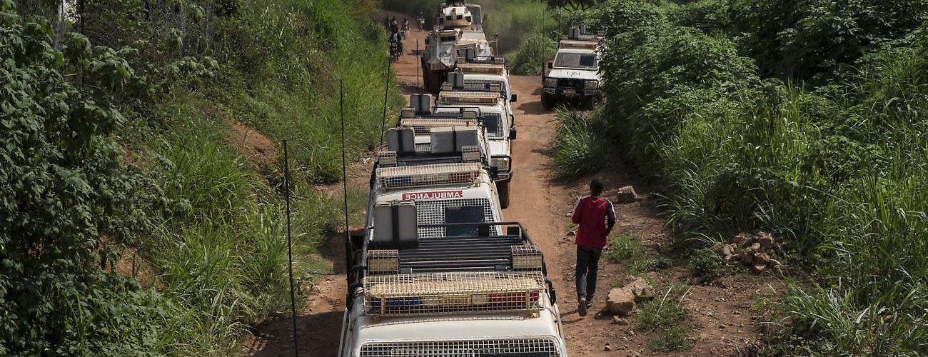Peacekeepers Bangui