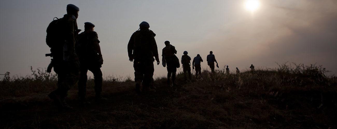MONUSCO Peacekeepers