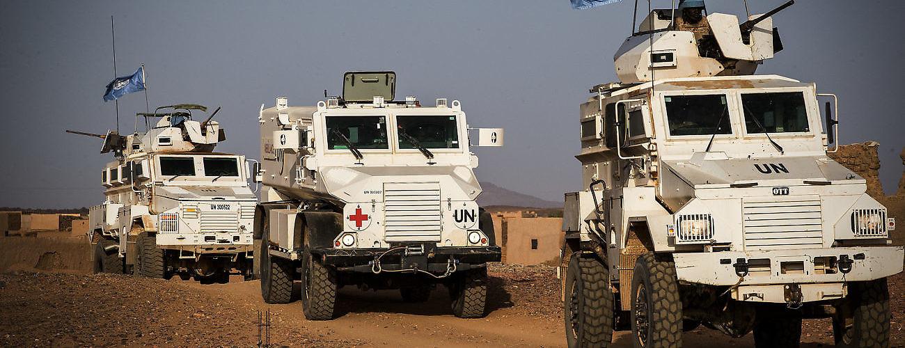MINUSMA Peacekeepers