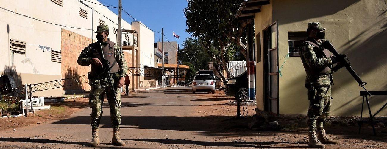 Paraguay COVID Prison