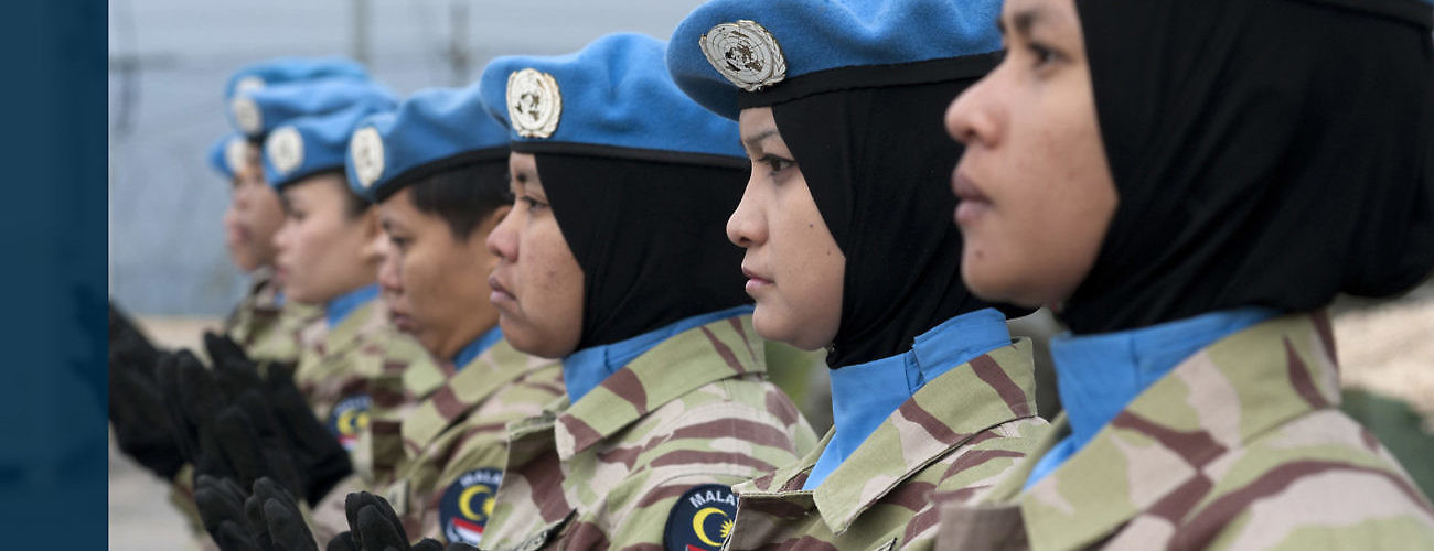 Malaysian Women Peacekeepers