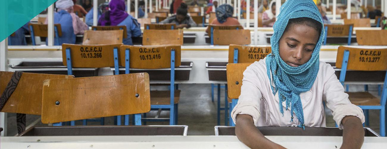Oromia Coffee Worker
