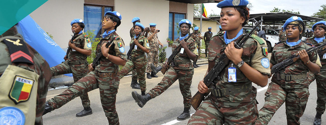Women Peacekeepers UNOCI
