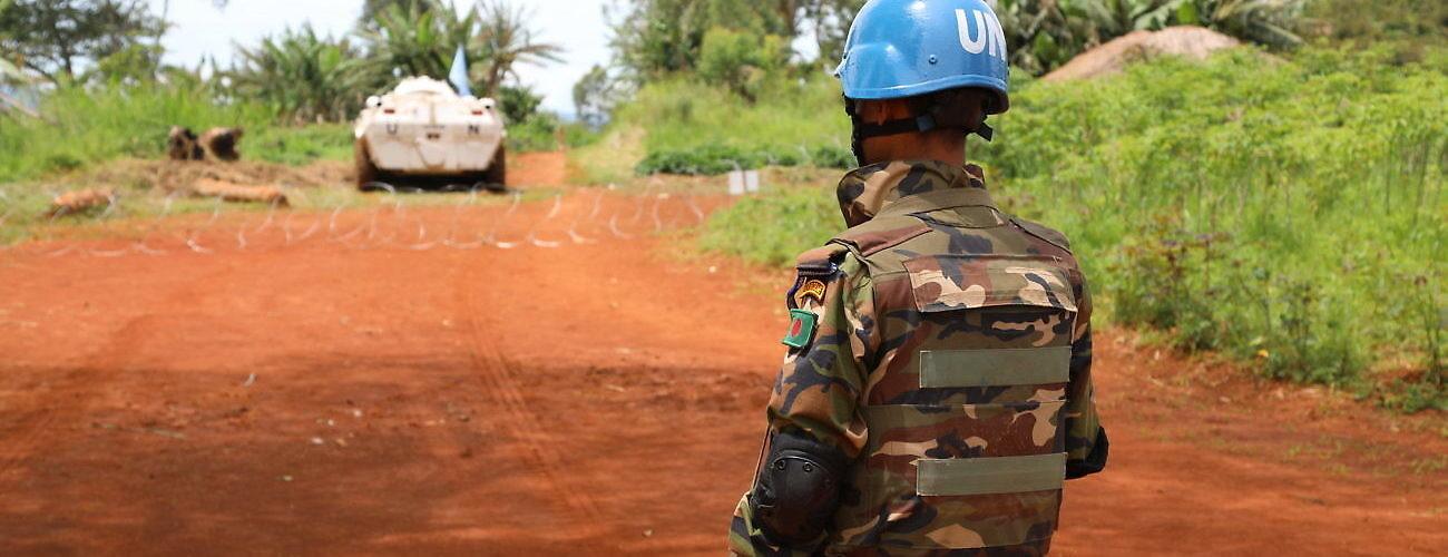 MONUSCO Peacekeeper