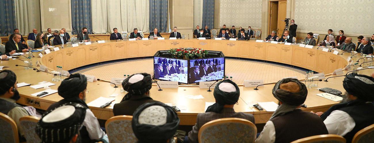 Afghan Peace Talks in Russia