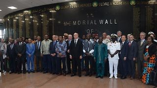 Wall of Heroes Inauguration