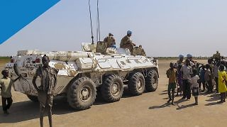 UNMISS Peacekeepers