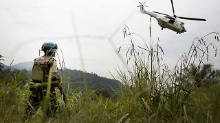 UN helicopter MONUSCO