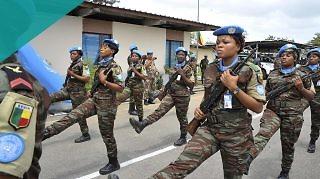 Women Peacekeepers UNOCI