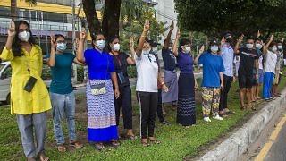 Myanmar Protests