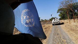 UN Vehicles Sudan
